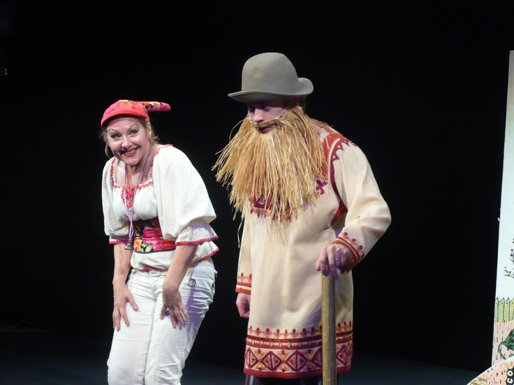 Коза-дереза - Татьяна Крючкова, Дед - Дмитрий Мазепа